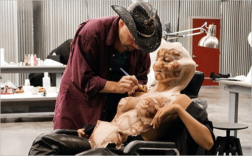 SFX WORKSHOP WITHROY WOOLEY - We are excited to host Roy Wooley of SyFy's FACE OFF for the third year in a row!He will join us from September 30-October 2, 2017for a Multi-day prosthetic workshop: molding, creating, painting and applying silicone and/or latex prosthetics. This class will be taught by Roy Wooley, Special FX artist and contestant on SyFy's Face Off.