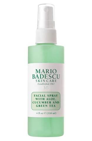 MARIO BADESCU FACIAL SPRAY WITH ALOE, CUCUMBER, AND GREEN TEA -