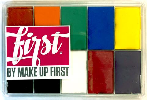 FIRST by Make Up First® (maqpro) Primary Slim Palette -