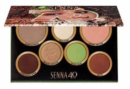 CREATE THIS FRESH SPRING LOOK WITH THE SENNA DECADES PALETTE