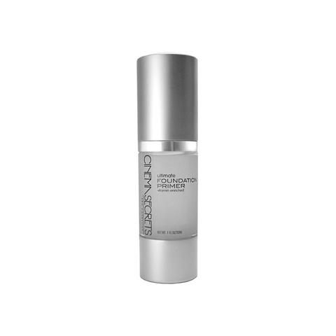 Cinema Secrets Ultimate Foundation Primer - Oil-free. Fortified with antioxidants, vitamins, and skin enrichers. Fills in fine lines and aids in smooth foundation application.*Pro Tip: Use alone for cold-windy days to protect your skin from the elements!