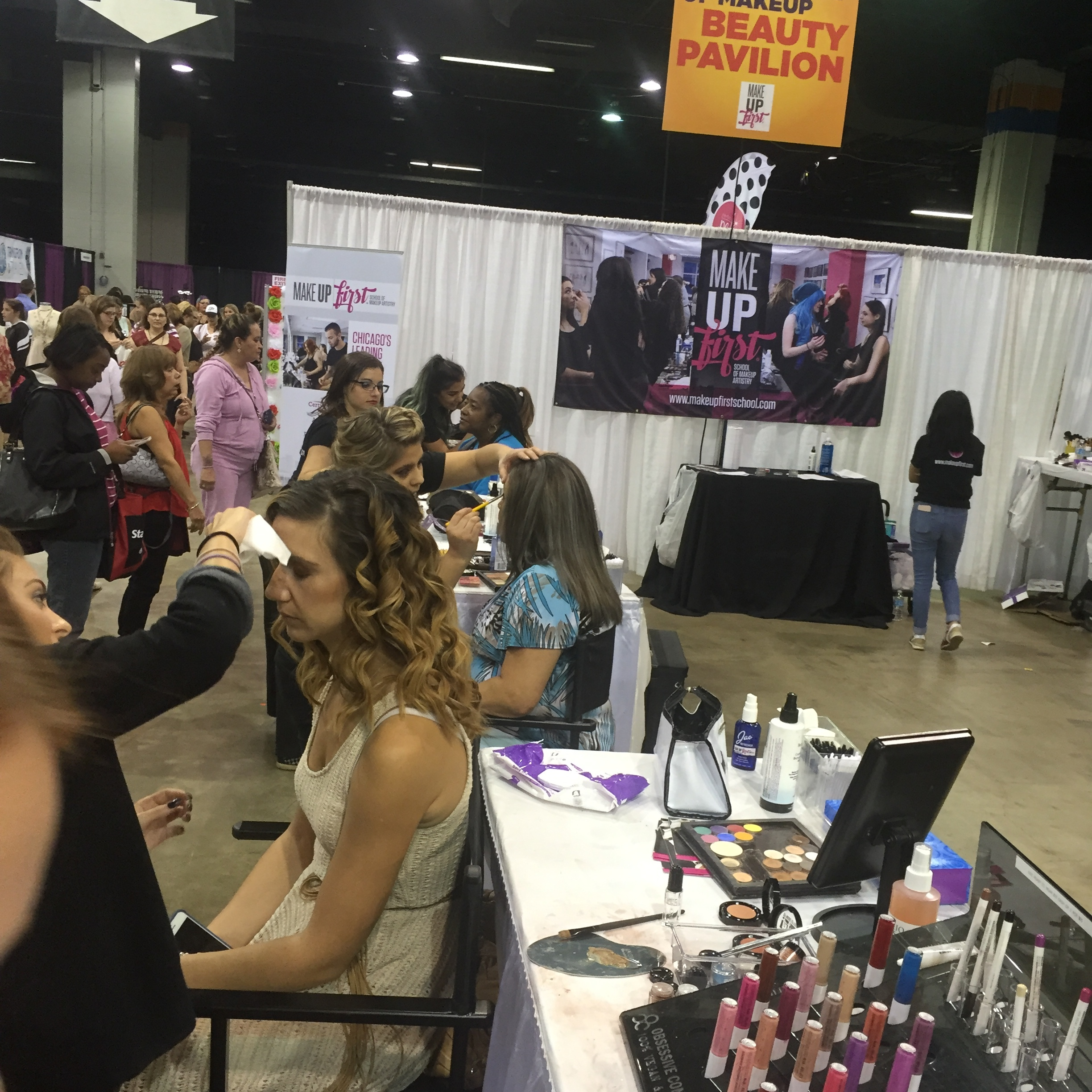 Make Up First Chicago Women's Expo 2017 2