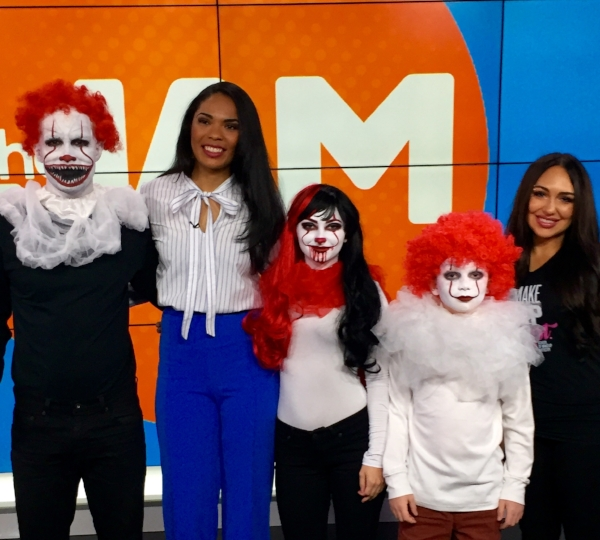 Check out our segment on last year's Pennywise costumes   here  !