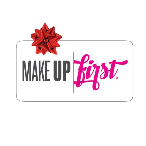Make Up First Gift Certificate