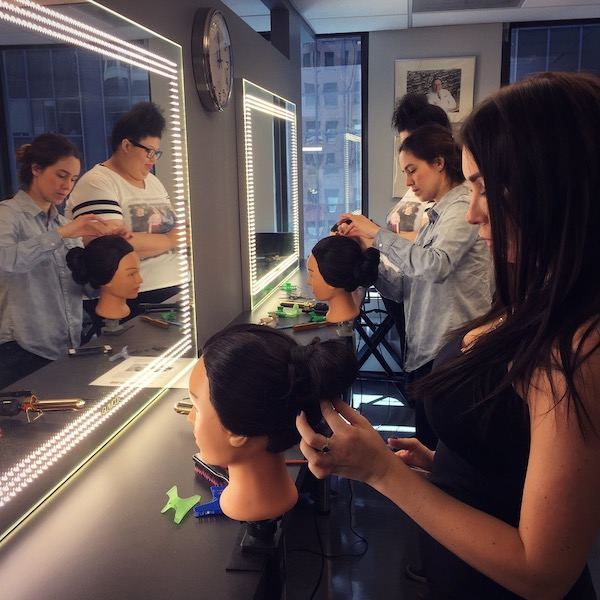 Make Up First Intensive Hairstyling for Makeup Artists Workshop