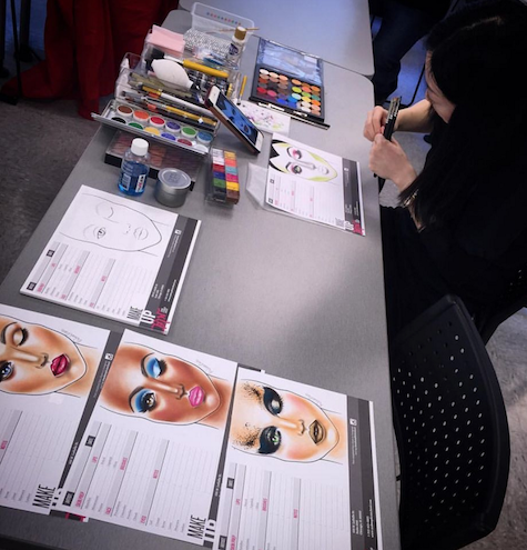 Face Chart Workshop Make Up First