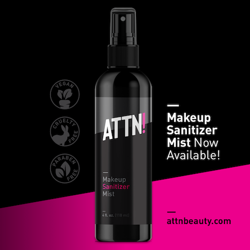 ATTN! Makeup Sanitizer Mist