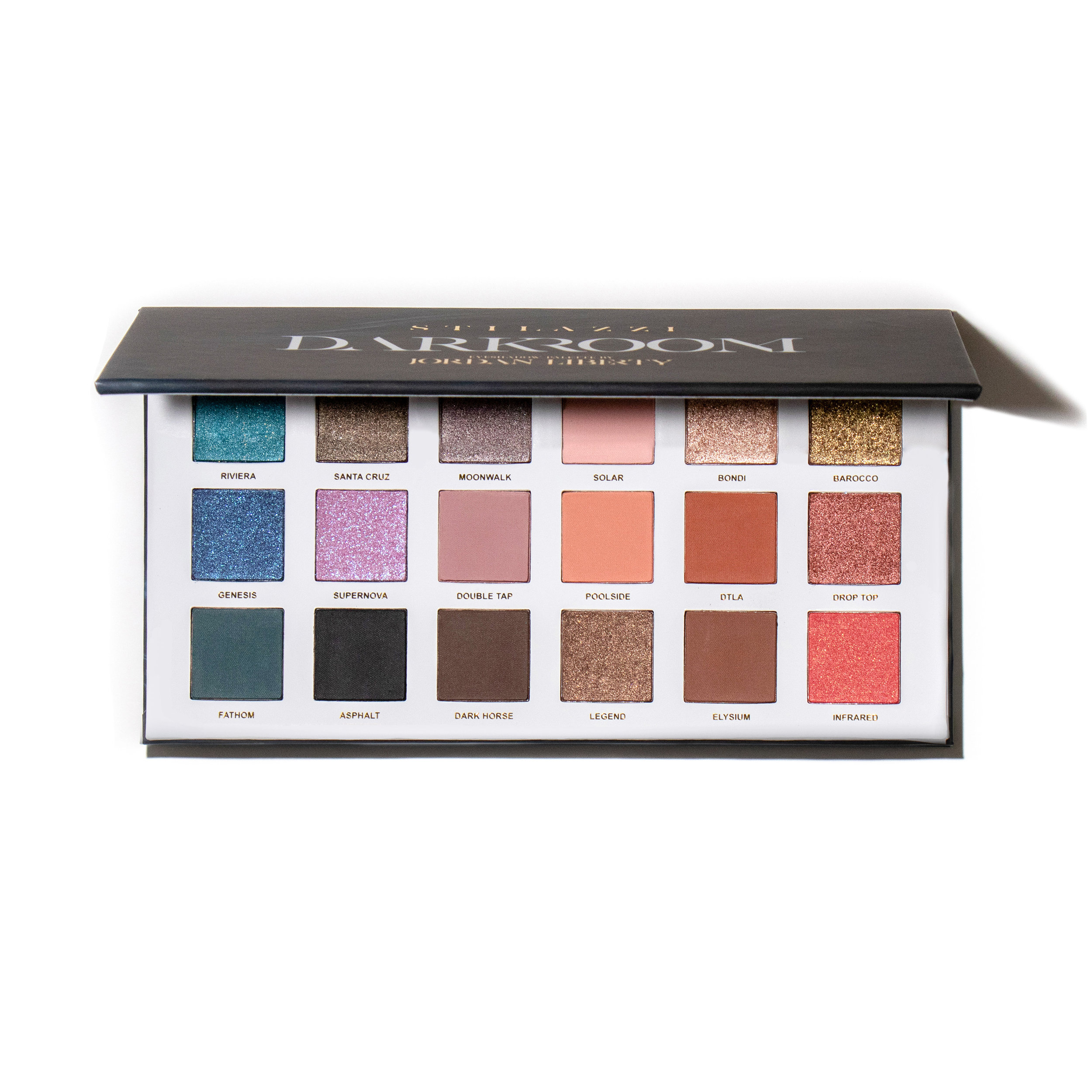 Stilazzi x Jordan Liberty- Darkroom Eyeshadow Palette