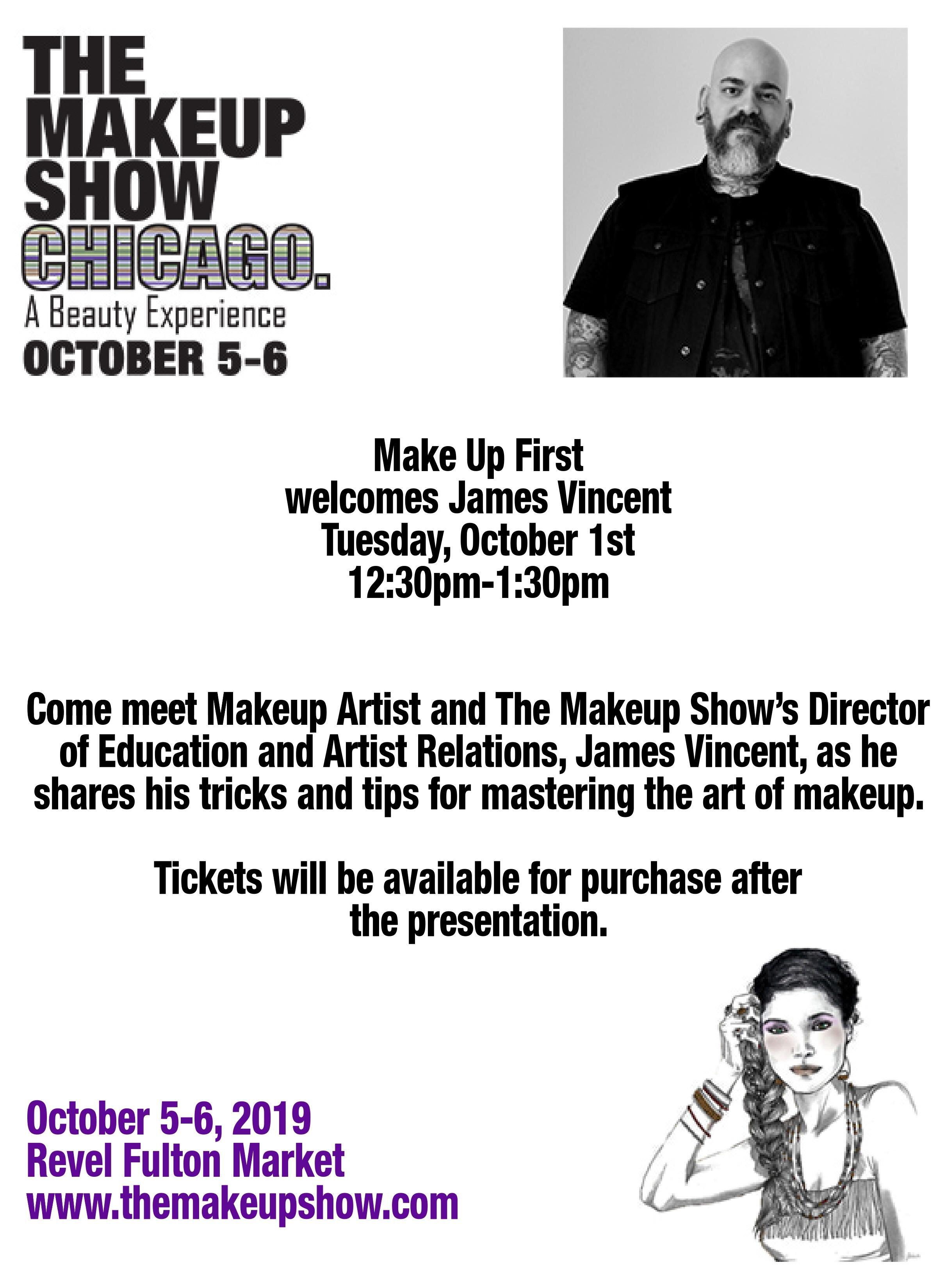 James Vincent & The Makeup Show Chicago