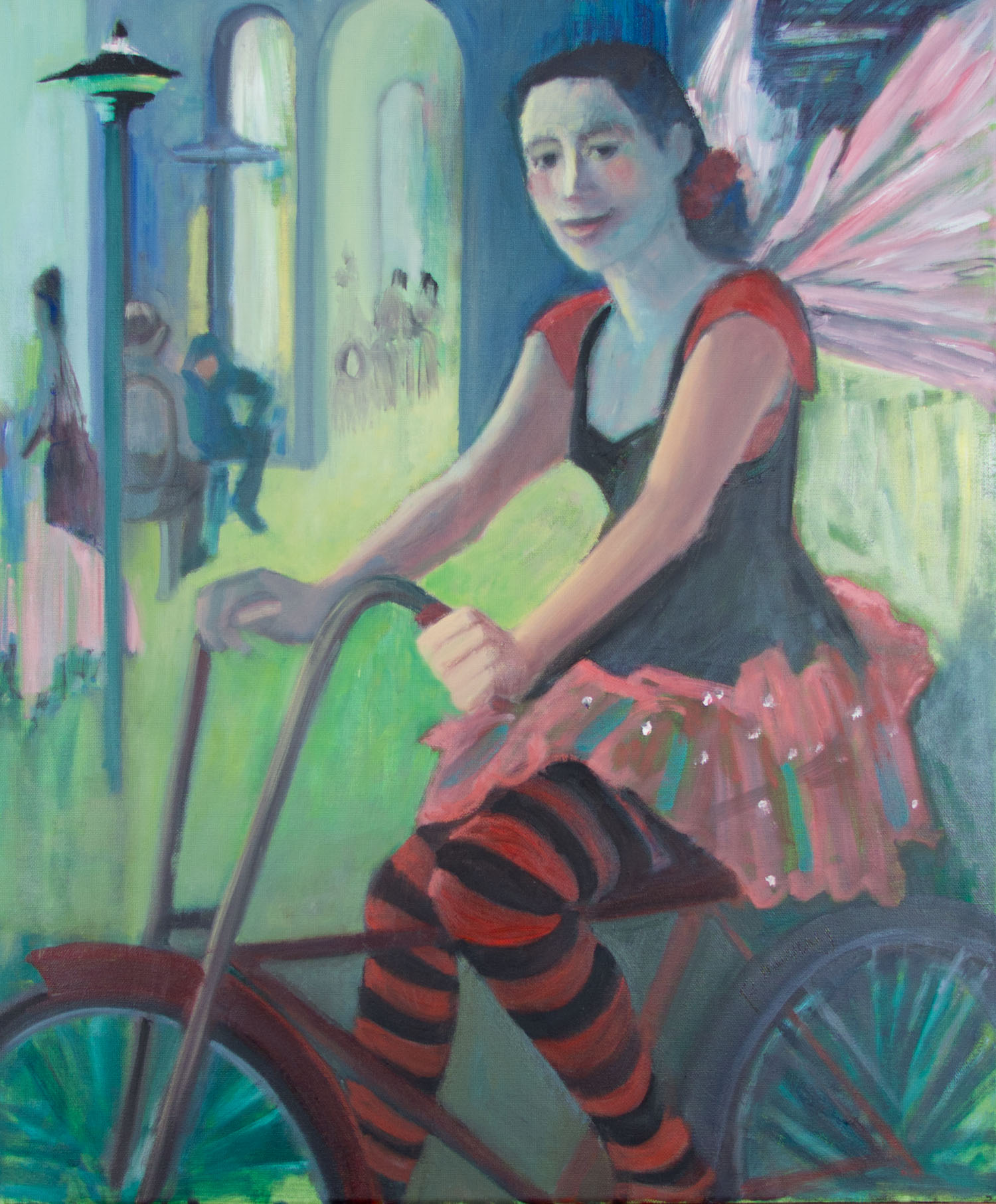 The Bicycling Fairy, New Orleans