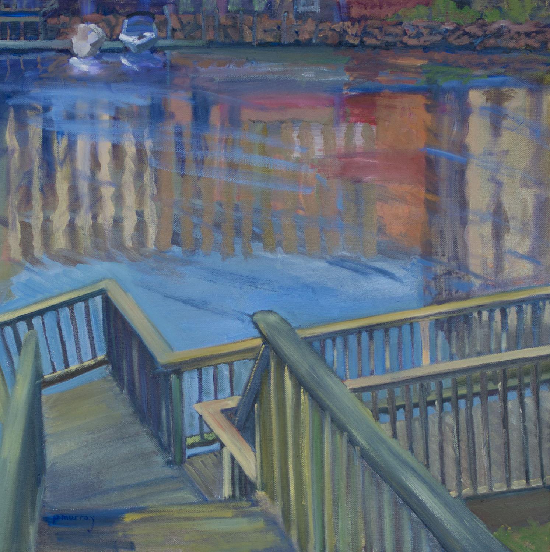 Riverwalk in Newmarket after Flood