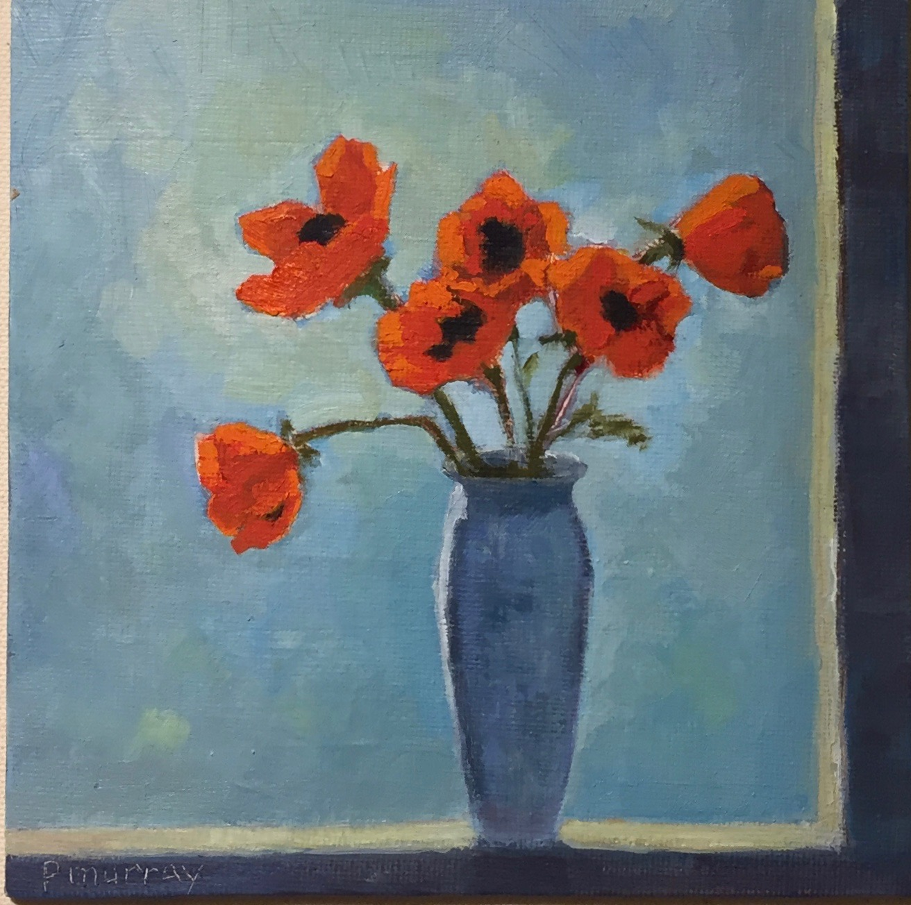 Poppies in the Window