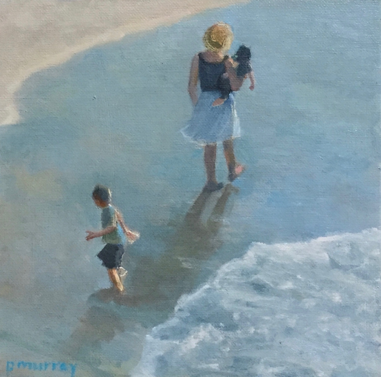 Beach Stroll with Mama