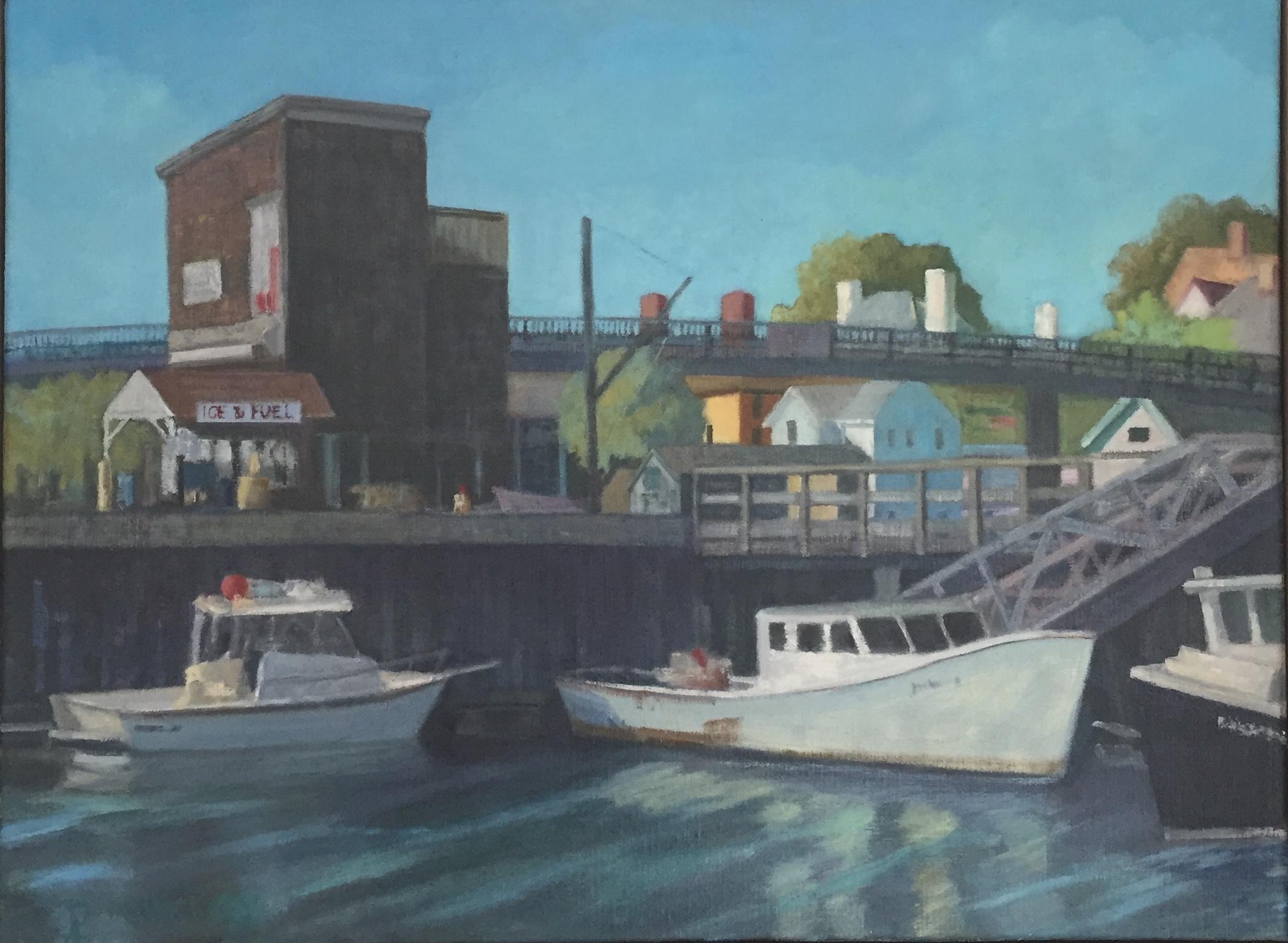 Peirce Island Wharf, View 2