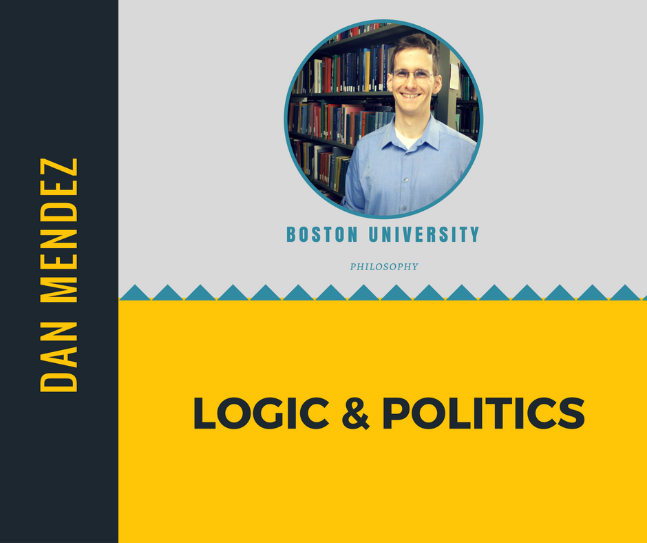 """Logic & Politics""   Dan Mendez,  Boston University"