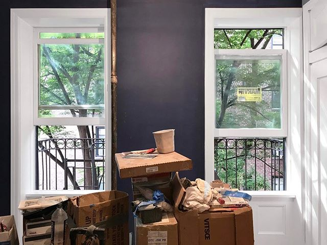 Feeling blue? We have some exciting interior renovation work in progress! . . . . #freyerarchitects #freyercollaborativearchitects #interiorarchitecture #interiordesign #renovation #nycarchitecture #residentialdesign #architecturalphotography #architecture #design #interior #residential #nyc #newyork #westvillage #manhattan #newyorkcity #architecturephotography #architect #architectural #photo #photography