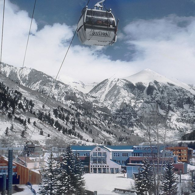 As a reminder to stay warm during the  #PolarVortex , here's a #tbt of a Telluride hotel construction settled at the foot of the San Juan Mountains in Colorado. . . . #freyerarchitects #freyercollaborativearchitects #architecture #architecturephotography #architects #cm #construction #hotel #hoteldesign #hotelarchitecture #telluride #telluridecolorado #colorado #winter #polarvortex
