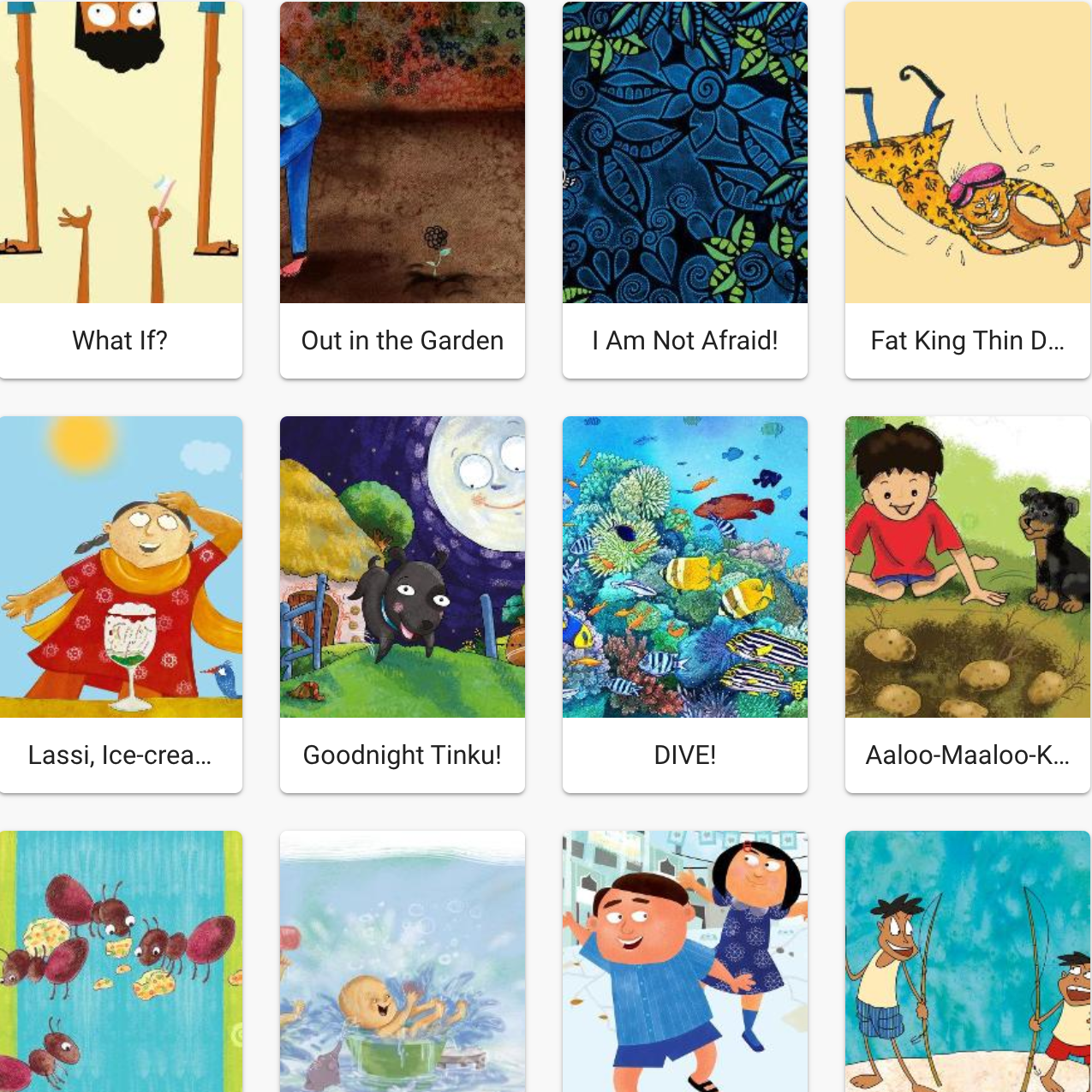eBook Projects - With eBooks that can become interactive story apps. Program staff, teachers or volunteers can use Curious Reader to convert eBooks to apps.