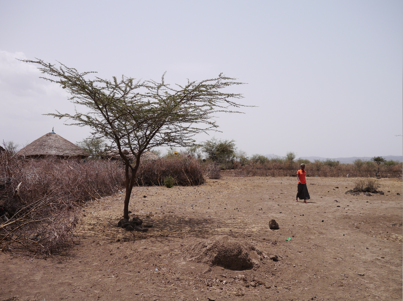 This village is 7km from water, the children have no access to school, and no one is literate in any language or speaks any English. Yet in Ethiopia, all schooling is in English after grade 4.