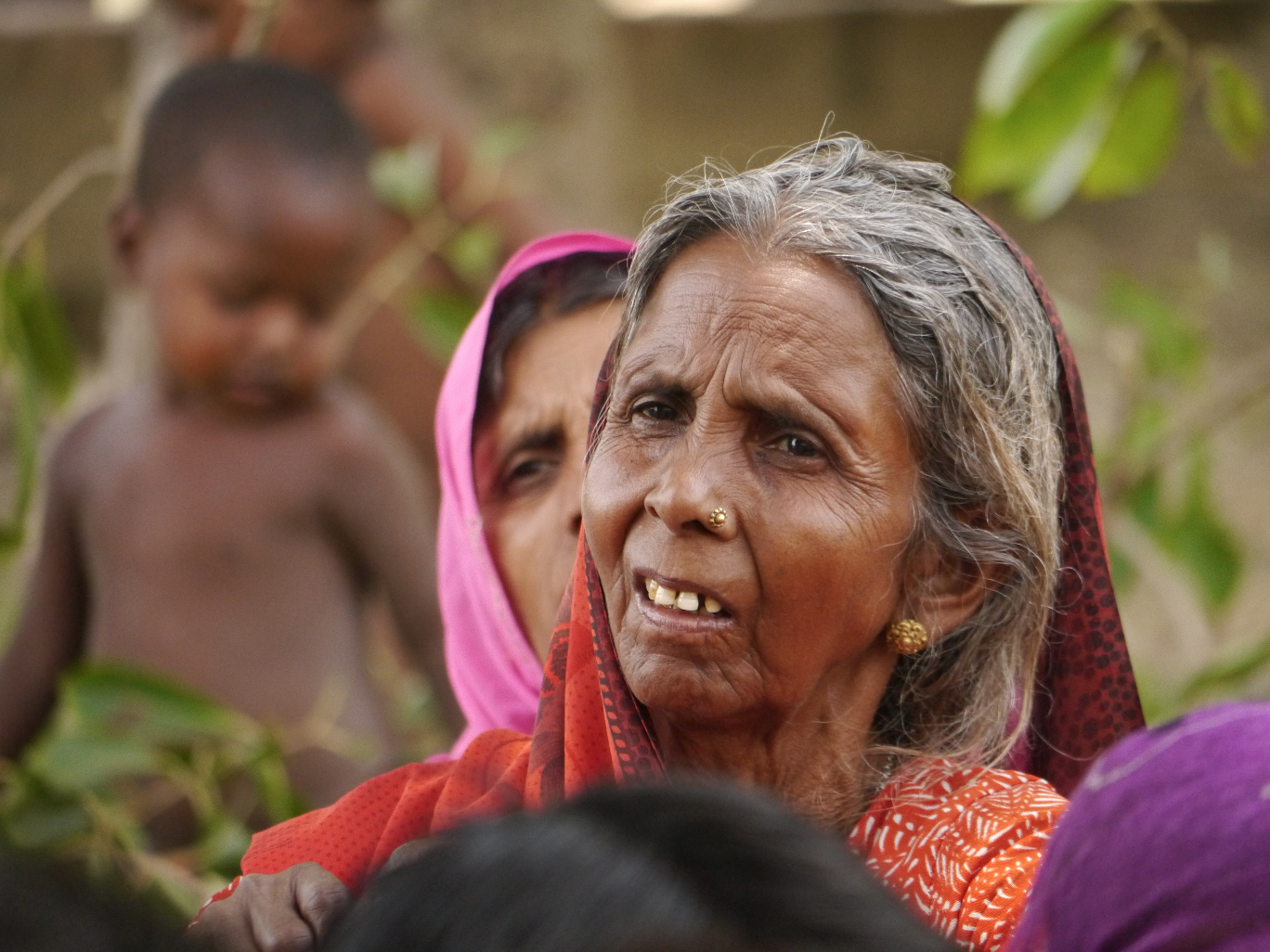 One of the elders of the village.