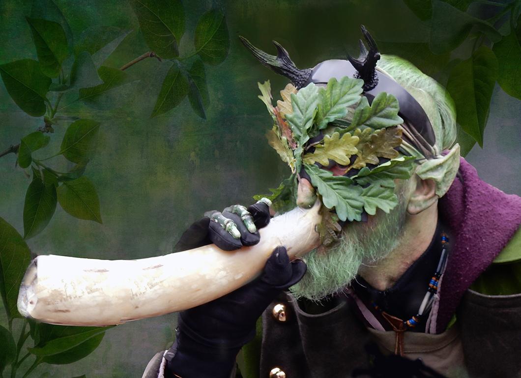 IMAGE FIFTEEN–Glastonbury Beltane Green Man