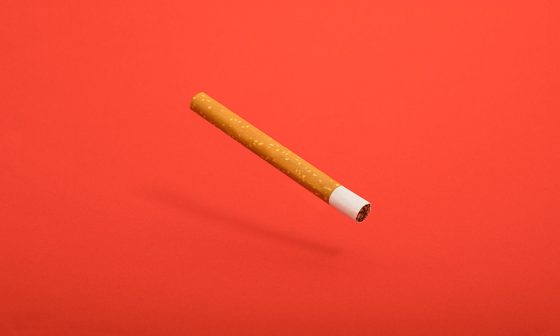 A smarter cigarette.