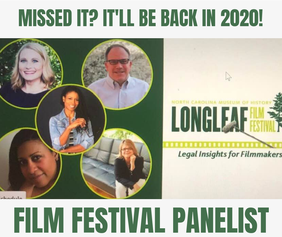 Longleaf Film Festival - May 2019.If you missed it…no worries, you can watch the panel discussion and Q&A videos below.