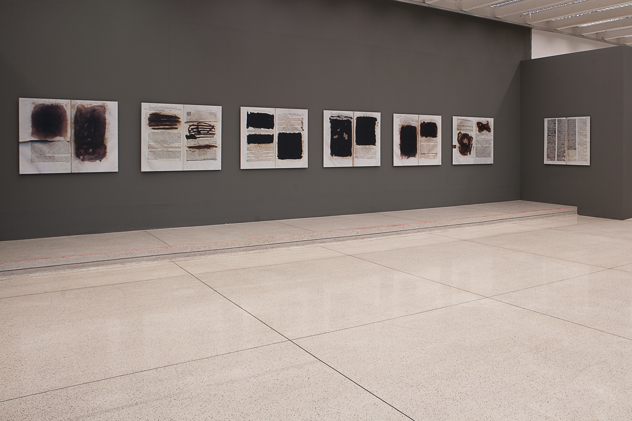 Censored . Installation view. Museu Oscar Niemeyer, Brazil, 2015.