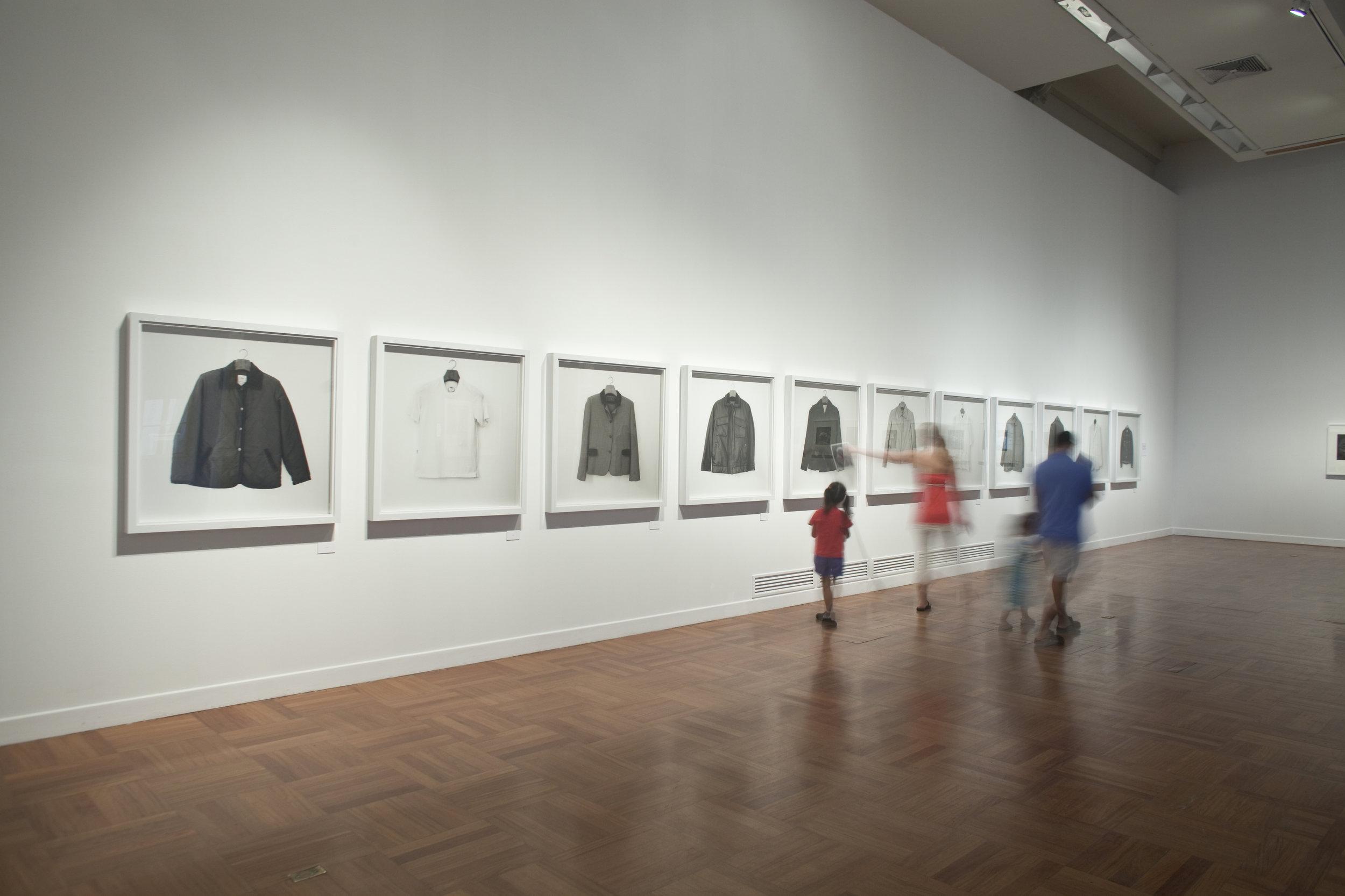 INDICIOS.  Installation view. Museo de Arte de Lima, MALI, 2012