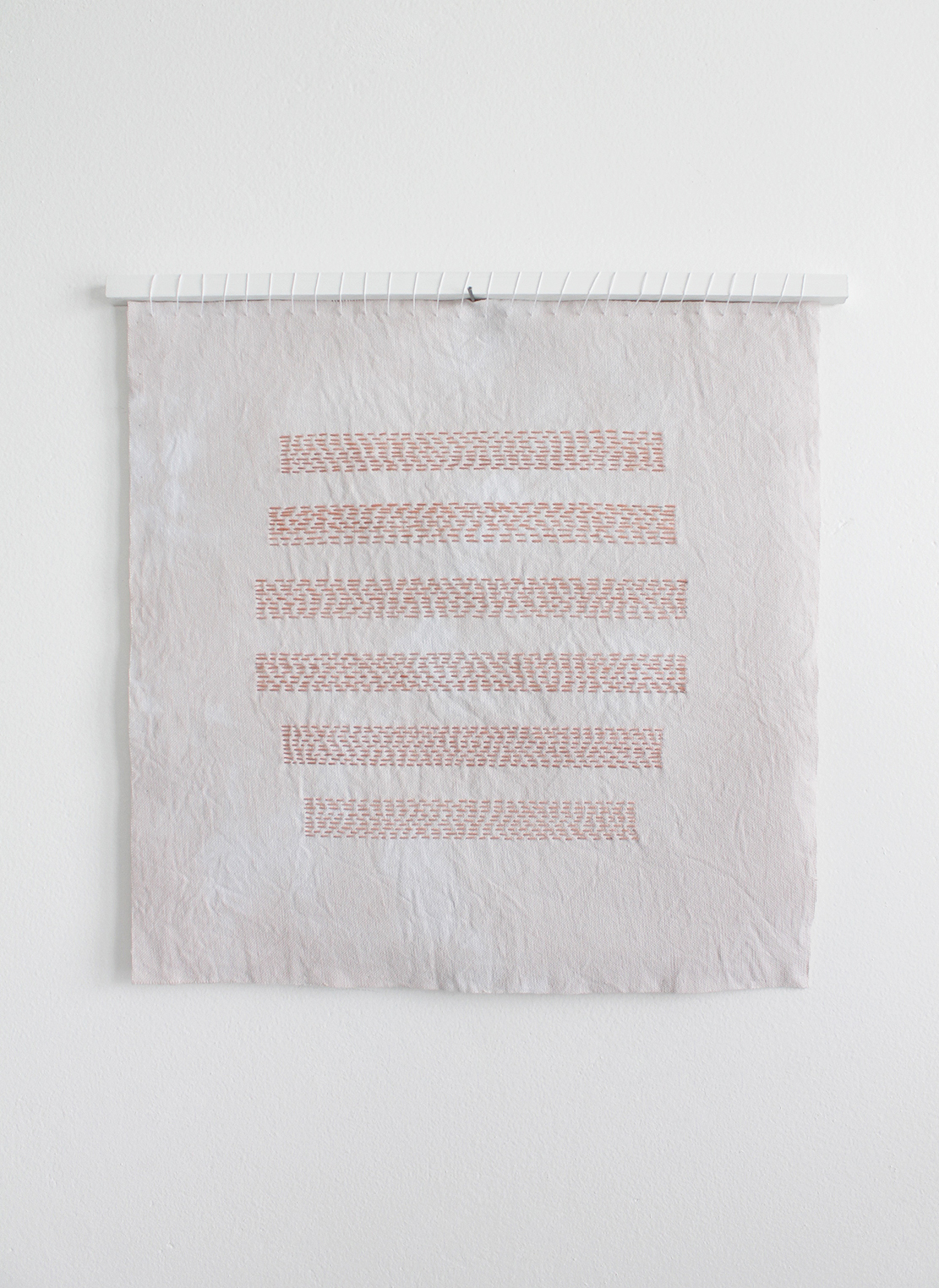 Self Portrait Breasts in Stripes