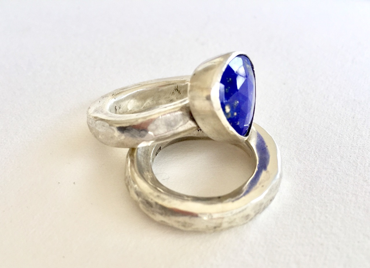 Lapis Lazuli and Chunky Silver