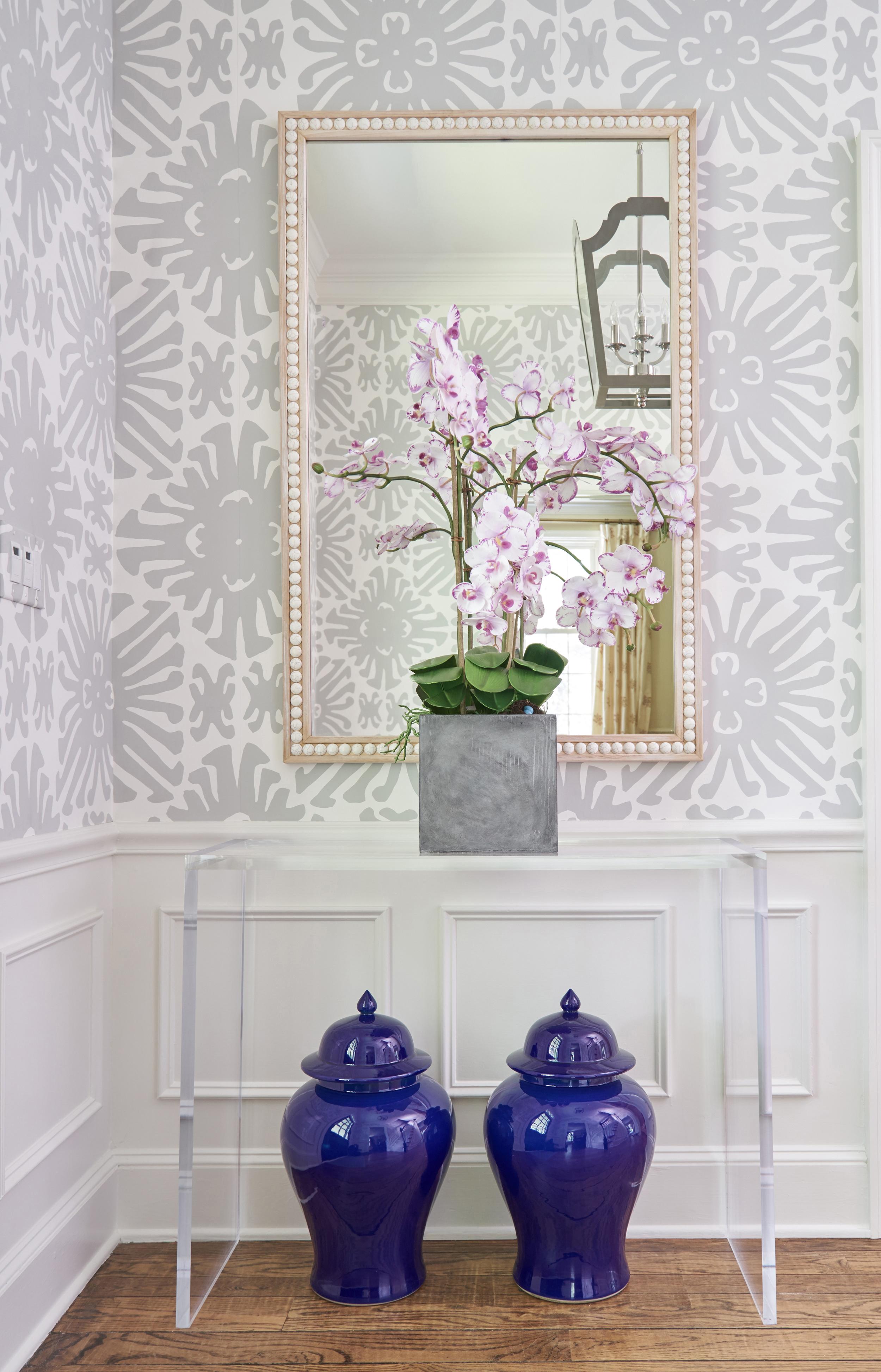 Fresh patterns bring simplicity.
