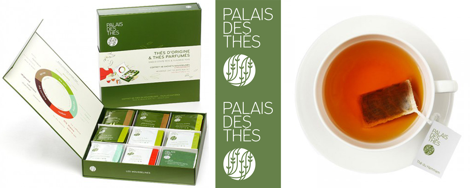 Coffret/Selection Box Le Palais des Thés.