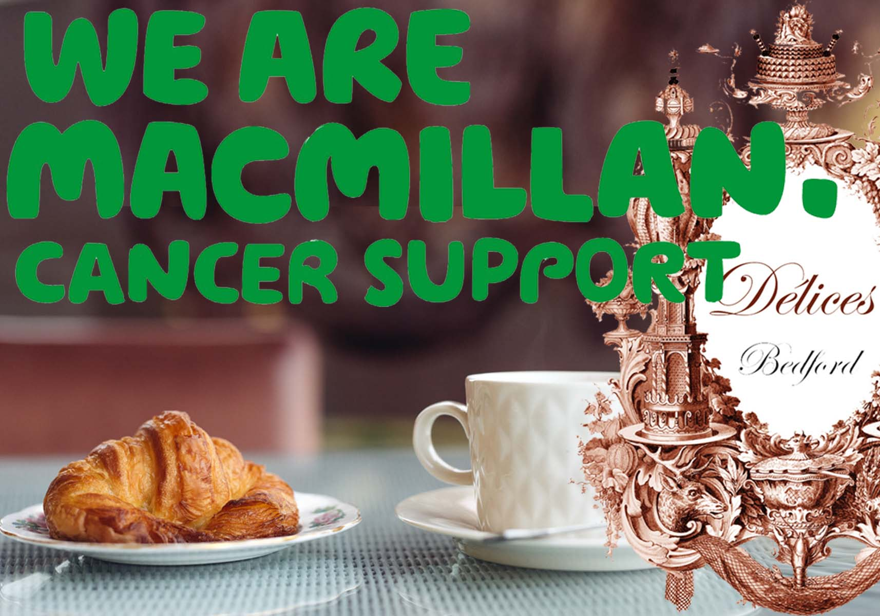 "MacMillan ""Coffee Morning"" at Délices"