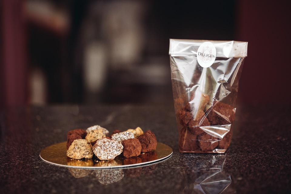 Homemade Délices' Cocoa Truffles