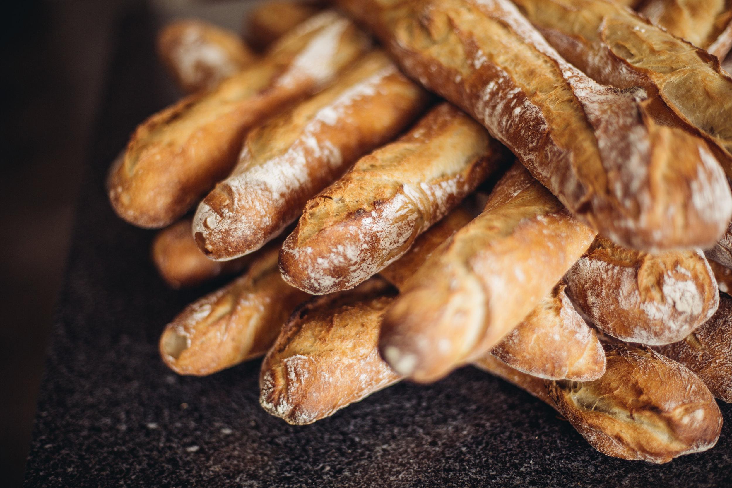 La Baguette de Tradition à Délices.