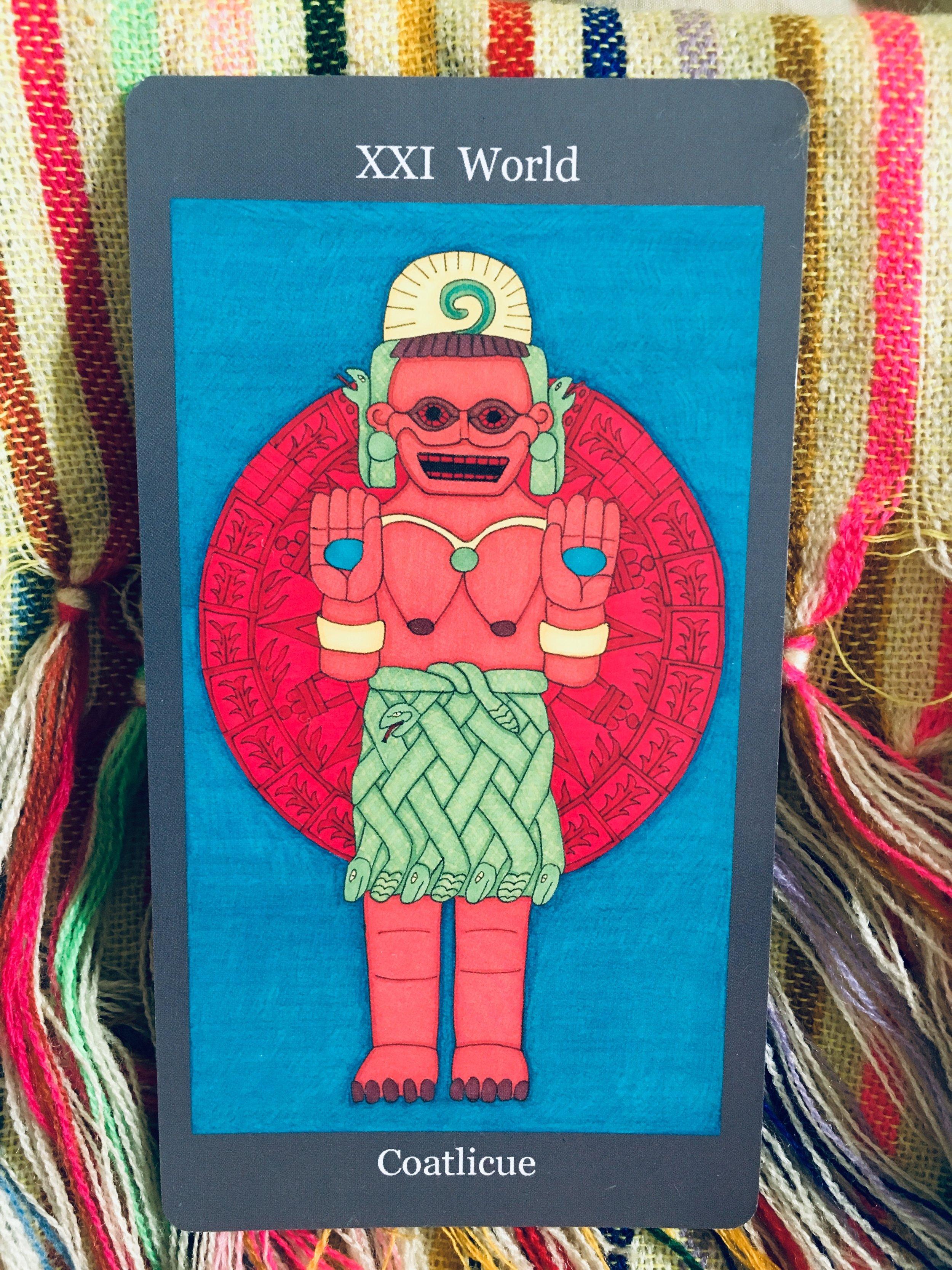 Dark Goddess Tarot created by Ellen Lorenzi-Prince