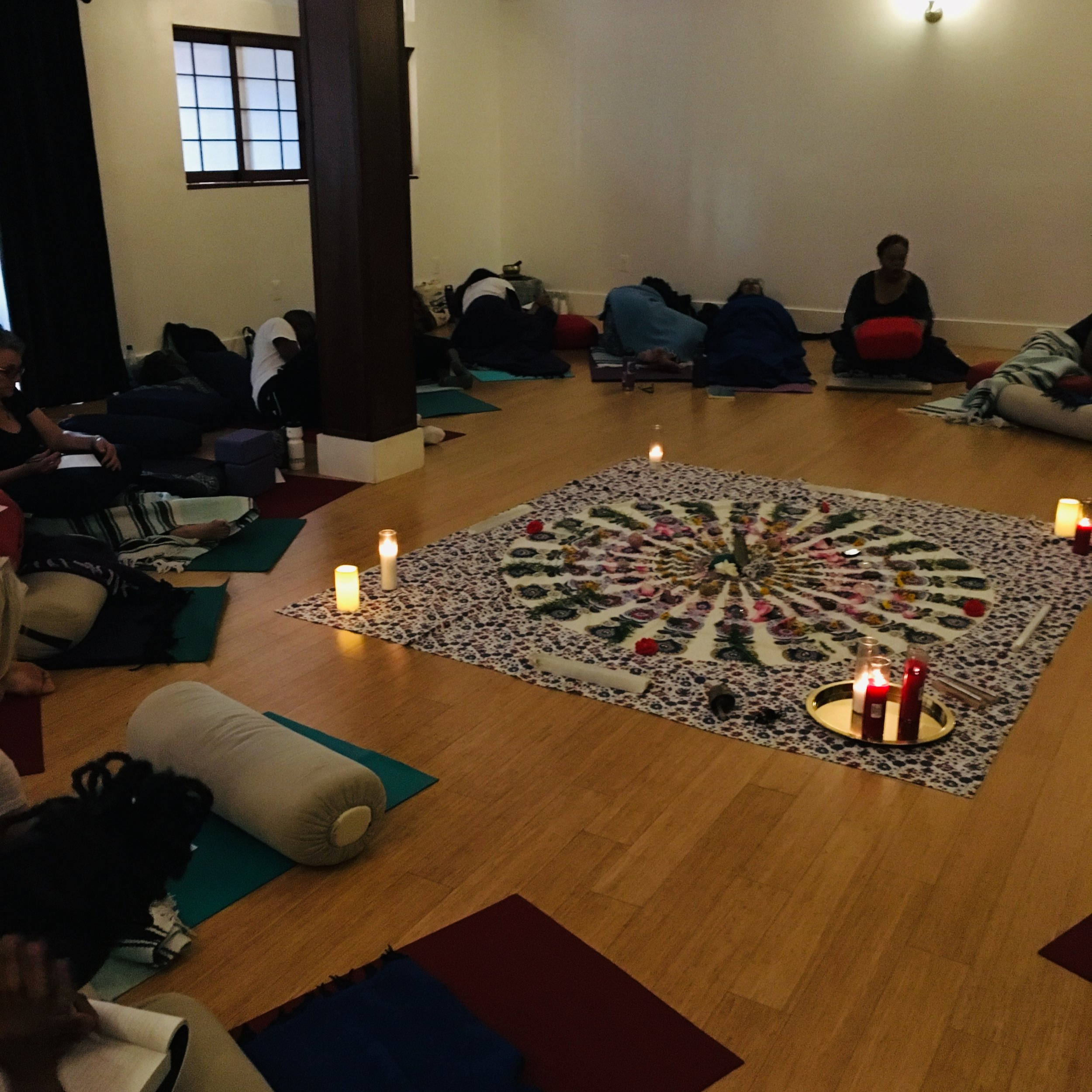 Thank you to everyone who came to Summer Solstice Ritual of Rest at  Anasa Yoga  and made it a sold-out evening! As well, thank you to everyone who cheered us on and showed interest but couldn't make it! Rest assured, more to come.