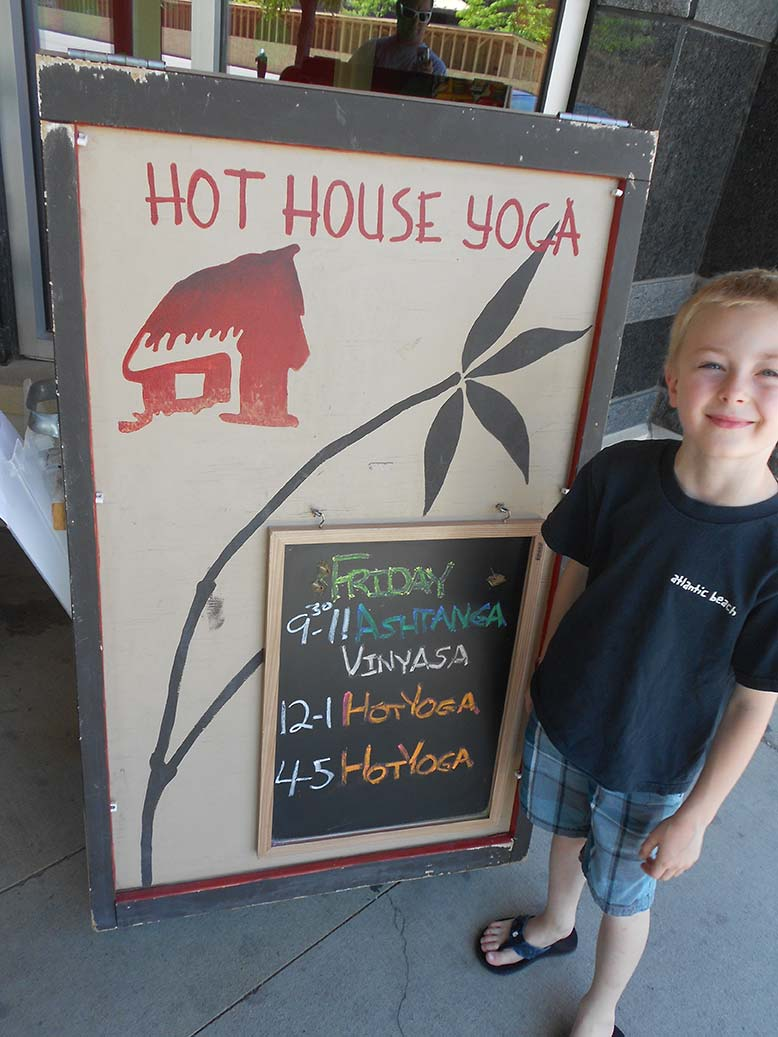 Hot House Sign