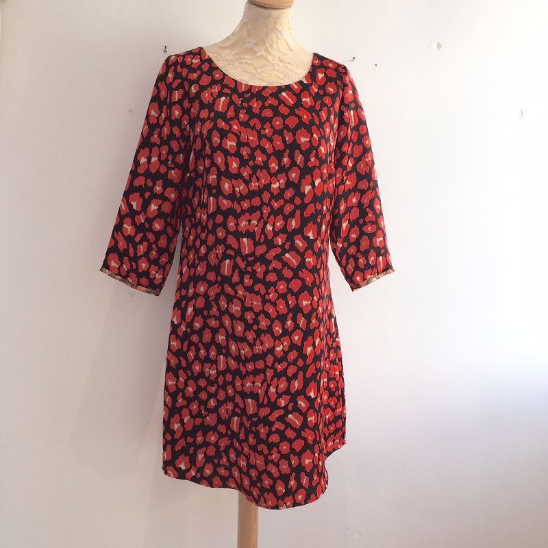 Black and red is a Maison Scotch dress, size M £20