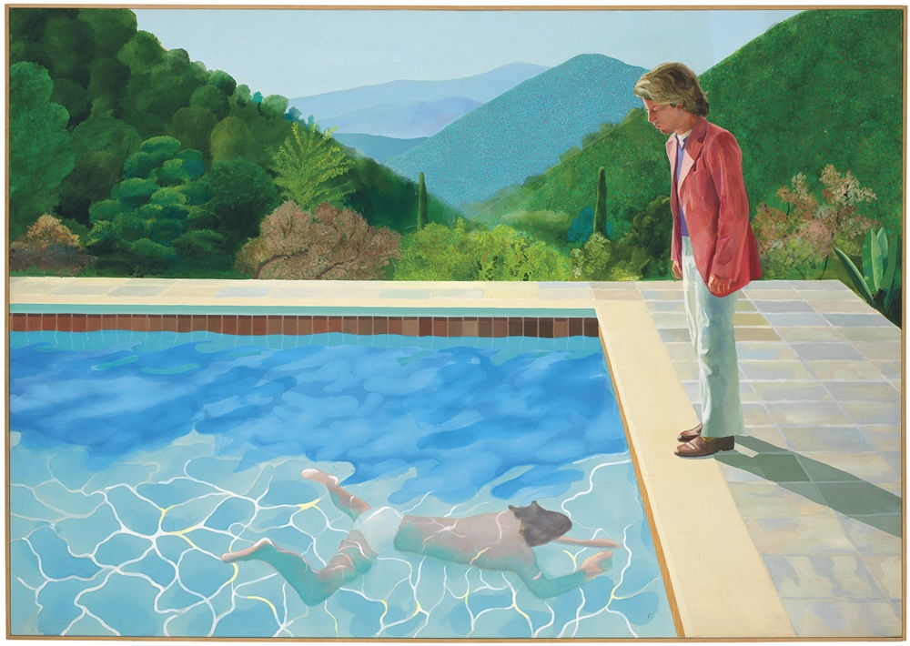 - Who was your favourite artist as a kid?I think David Hockney, wonderful colours, composition.