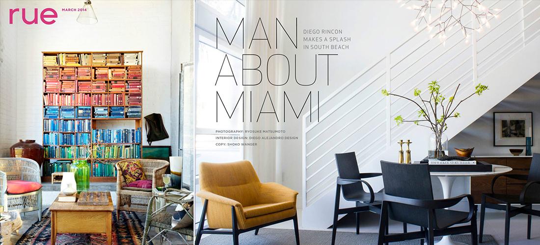 Rue Magazine - Diego Rincon Spotlight