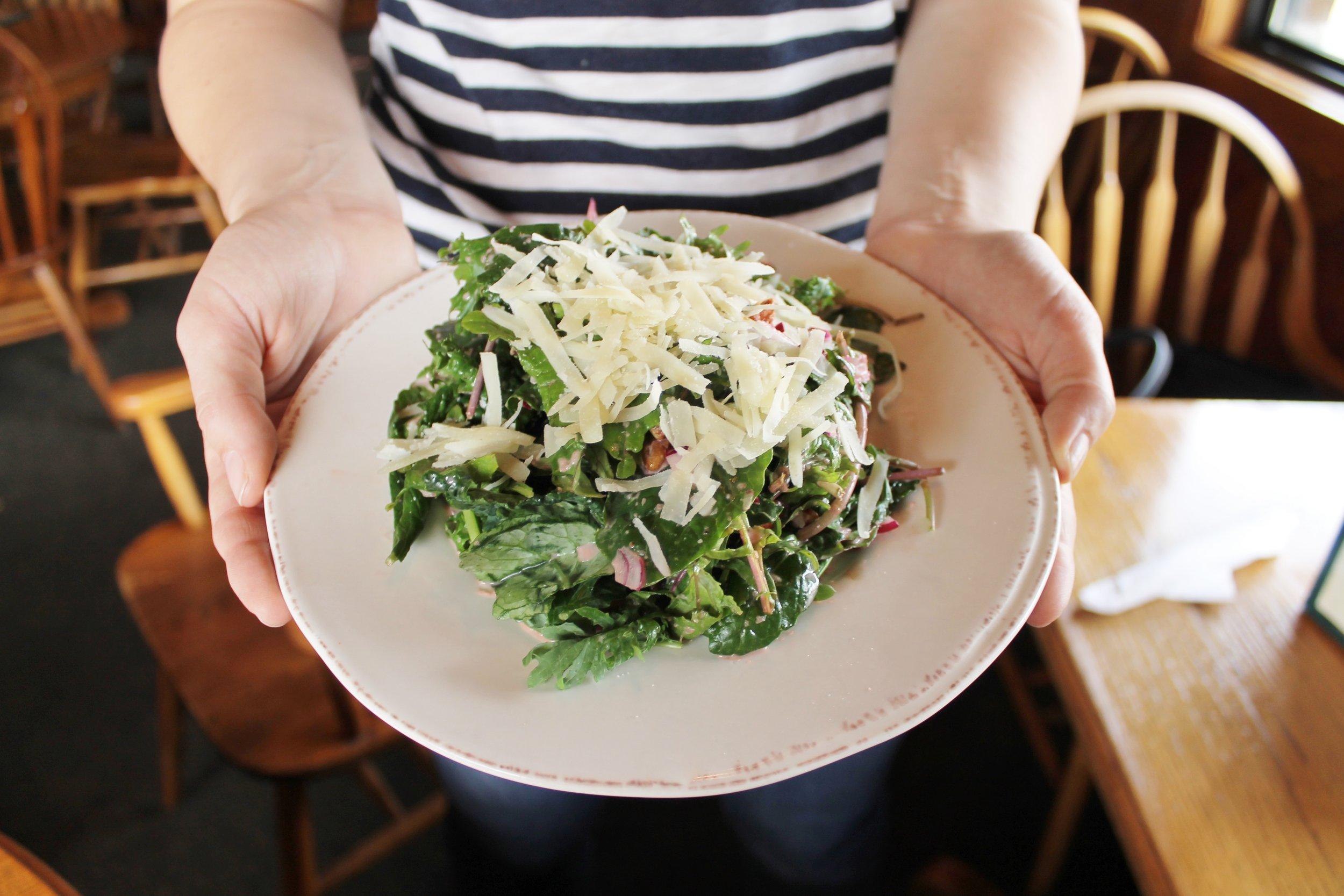 McCabe Pub Kale Salad