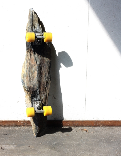 """The Stone Board   (out of the series """"Mobility Foundation"""" 2014)"""