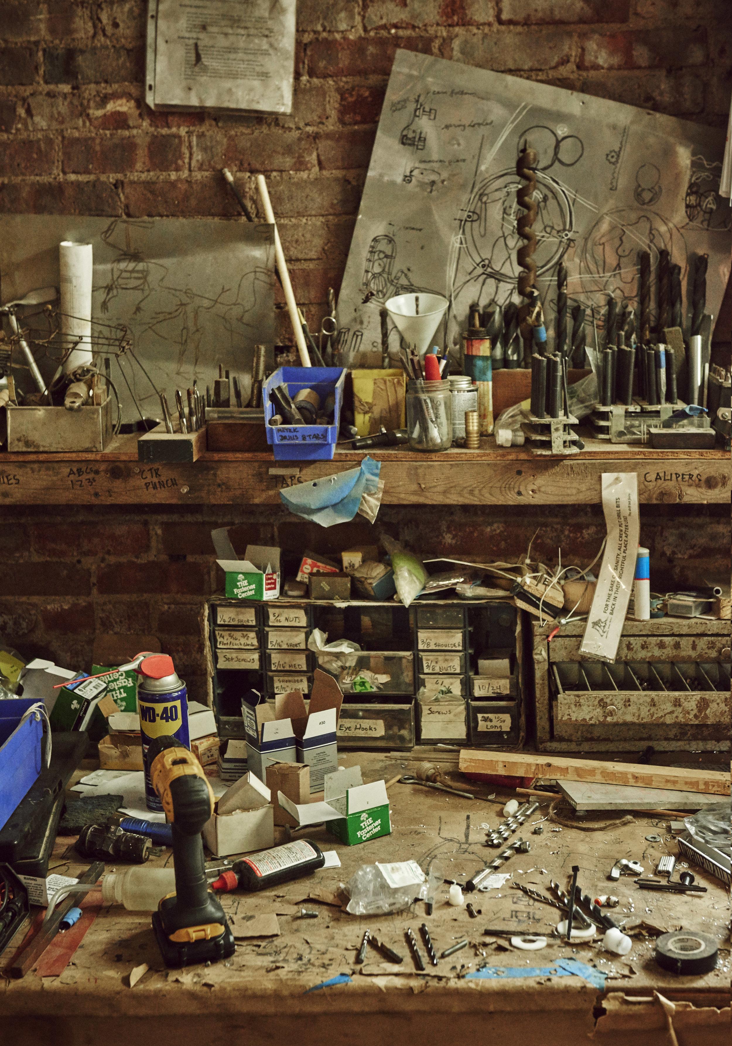 ARW studio Brooklyn, NY. Photo: Andrew Boyle
