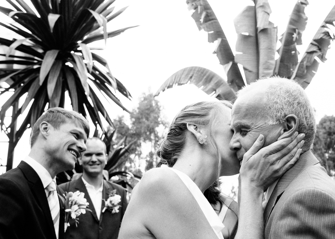 Backyard Wedding Ceremony © California photographer Kate Donaldson Photography
