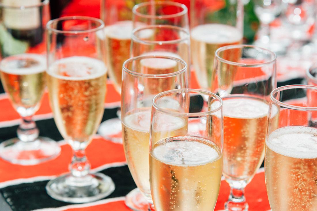 Champagne © Arcata wedding and portrait photographer Kate Donaldson Photography