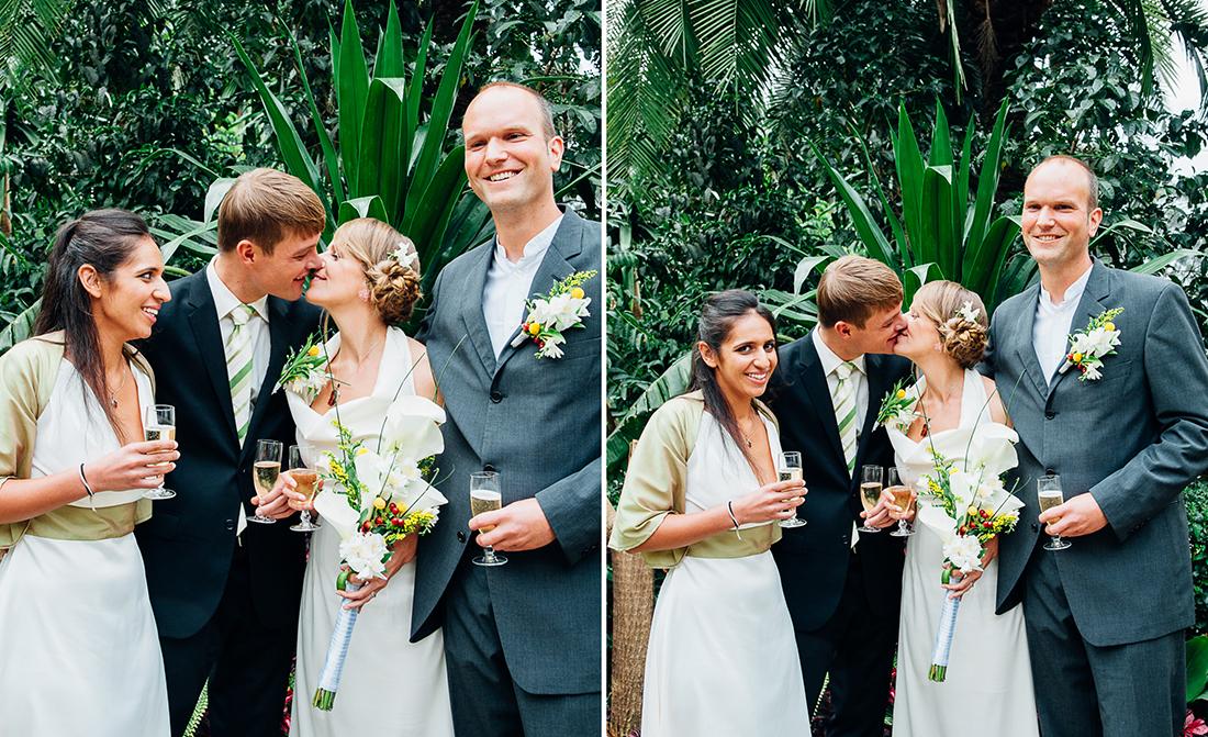 Wedding party toast © Arcata wedding and portrait photographer Kate Donaldson Photography