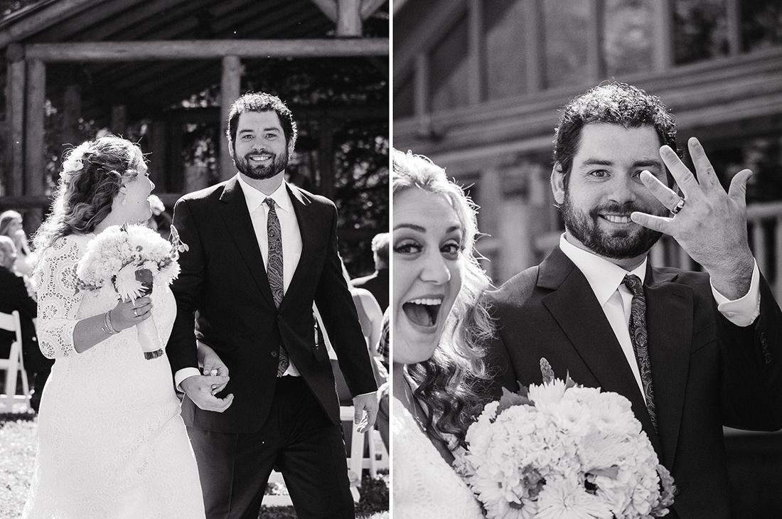 Excited Groom ©Humboldt Wedding Photographer Kate Donaldson Photography