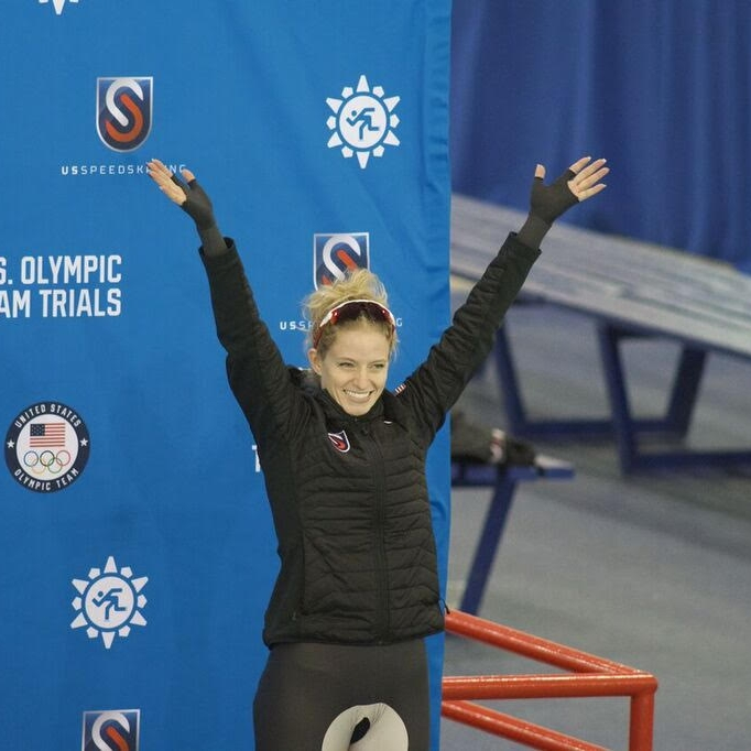 - My 2016-2017 season yielded many gold and silver medals at Long Track US Nationals and Fall World Cup Trials, enabling me to compete in the 2018 Winter Olympic Trials. Here I placed 3rd in the 1000m and 1500m and 2nd in the Mass Start, qualifying me for the US Olympic Team to compete in Pyeongchang, South Korea in February of 2018.